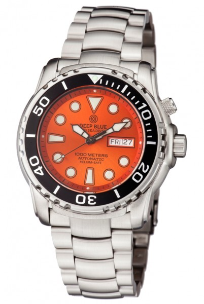 Deep Blue Sea Diver III 1000m Orange