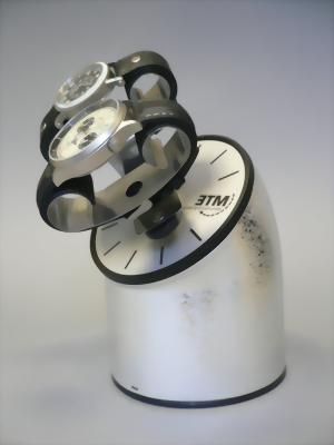 MTE WTA 220 Uhrenbeweger Silver inkl. Netzteil