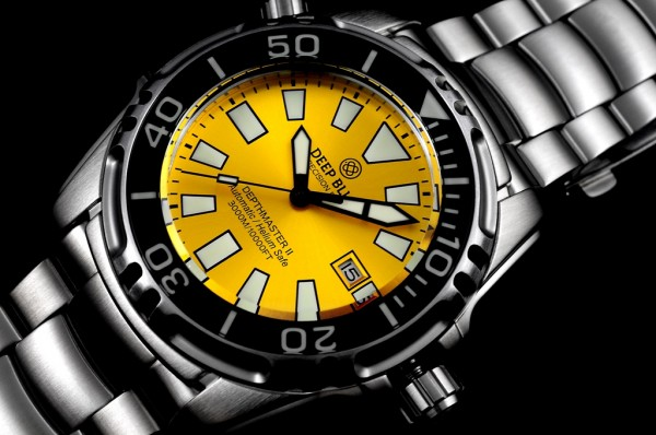 Deep Blue Depthmaster II 3000m Yellow