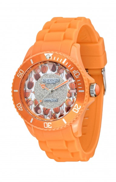 Madison New York Flower Power Orange U4617-22