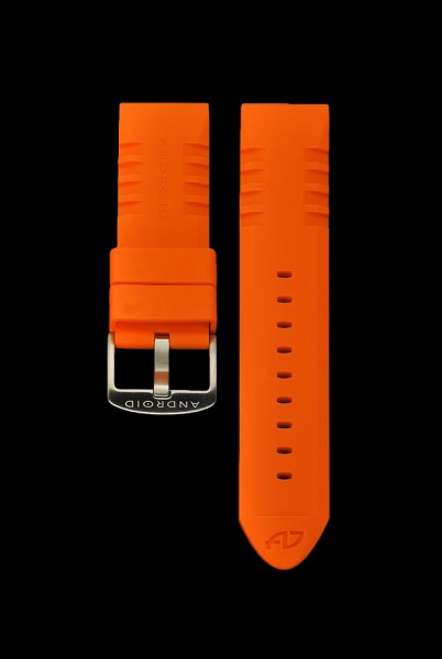 ANDROID Gummiarmband 24mm Orange
