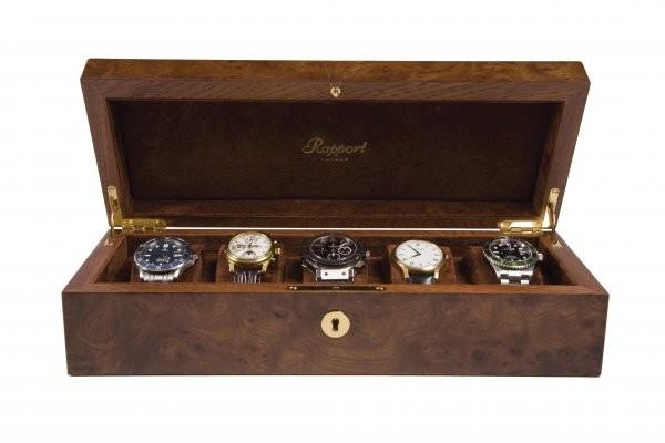 Rapport Wurzelnuss Uhrensammlerbox 5