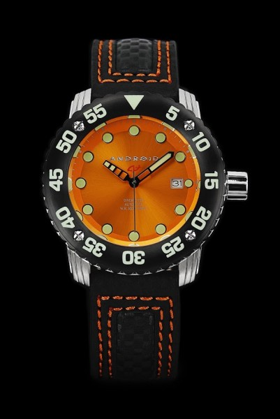 ANDROID DM Gauge Automatic 300m Orange AD714BKRG