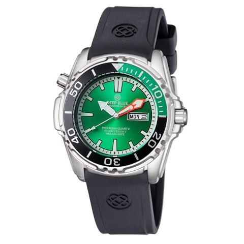 Deep Blue Pro Aqua 1000m Quartz Black-Green