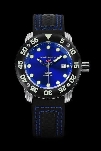 ANDROID DM Gauge Automatic 300m Blue AD714BKBU