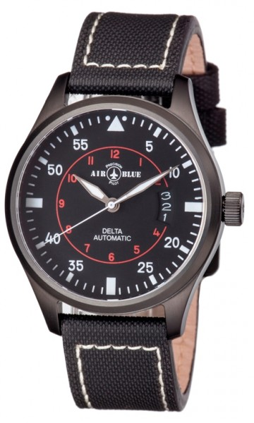 Air Blue Delta Automatic Black PVD 44mm