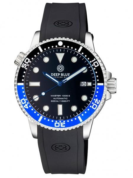 Deep Blue Master 1000 II Black-Blue-Black-Glossy