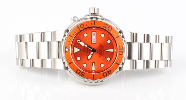 Deep Blue Sun Diver III 1000m Orange