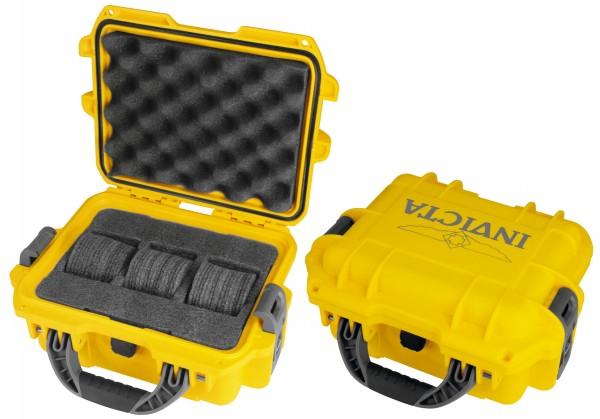 Invicta Stoßfester Uhrenkoffer Yellow 3