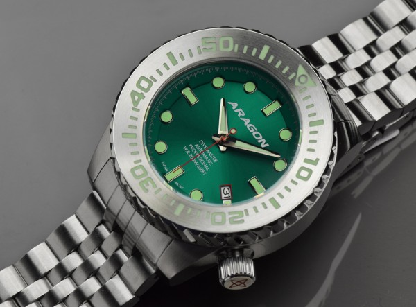 ARAGON Divemaster EVO 45 mm Automatic Green