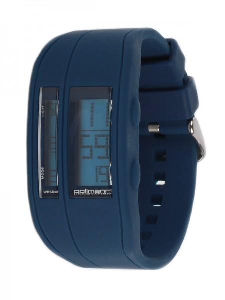 Pollmann Sportwatch Chrono Dunkelblau Armbanduhr
