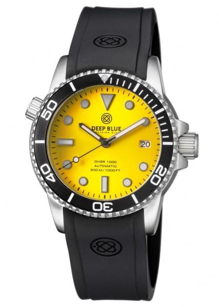 Deep Blue Diver 1000 Black-Gelb