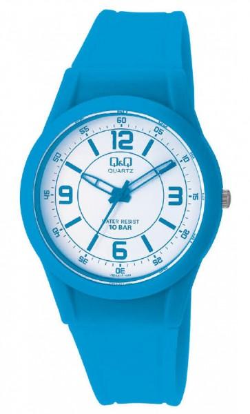 Q&Q Analog VQ50J019Y Unisex Blau Armbanduhr