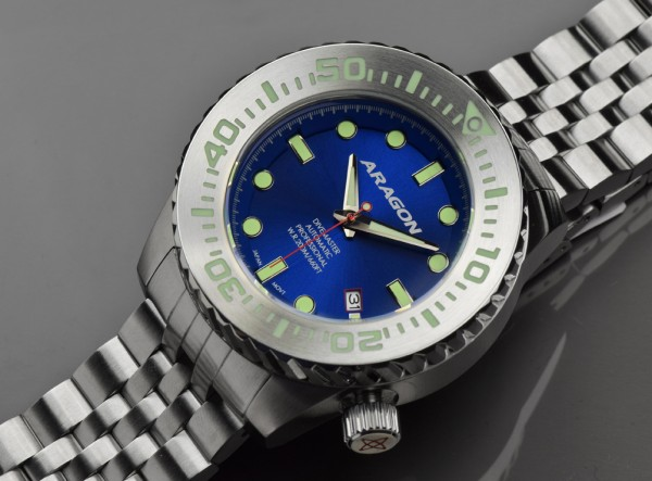 ARAGON Divemaster EVO 45 mm Automatic Blue