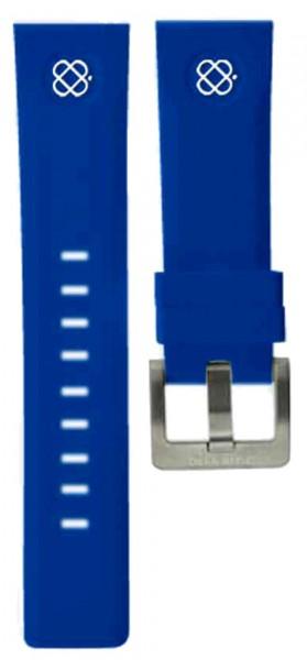 Deep Blue Sea Ram Silikonarmband 24mm Blue-Weiss