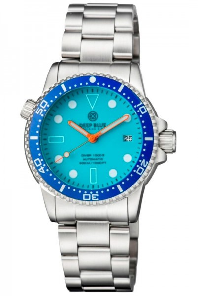 Deep Blue Diver 1000 II Blue Full Lume Steel