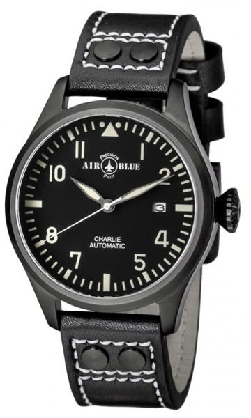 Air Blue Charlie Automatic PVD Black-White 44mm
