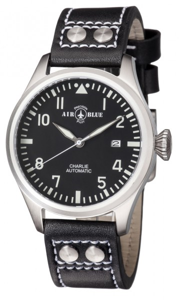 Air Blue Charlie Automatic Black 44mm