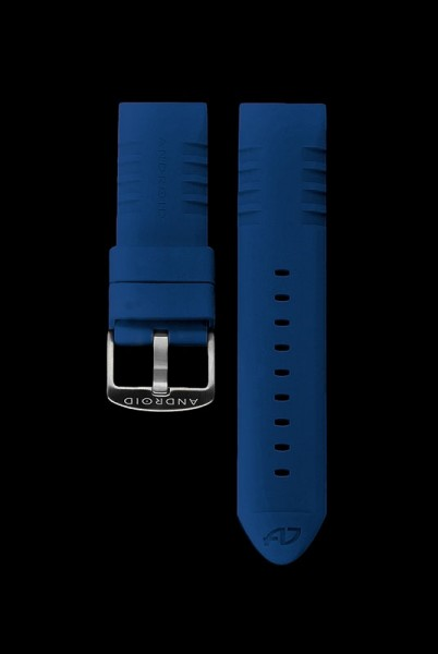 ANDROID Gummiarmband 24mm Blue