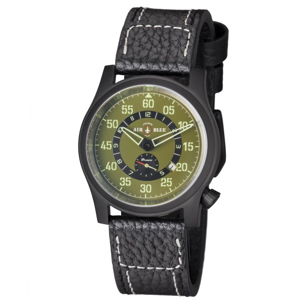 Air Blue Papa Praesto Grün 44mm Automatik PVD