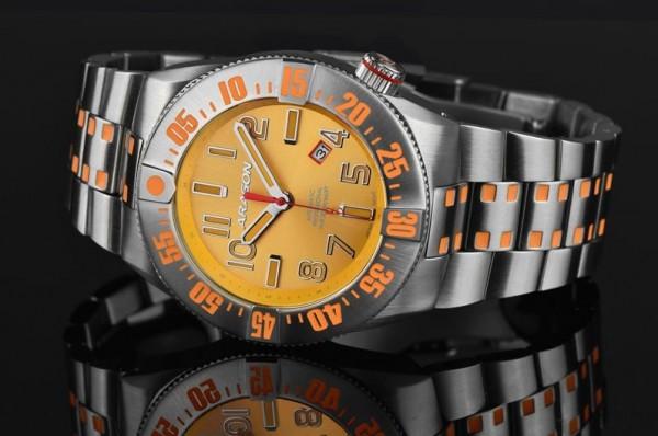 ARAGON Bioluminescence Orange-Orange 50mm Automatic