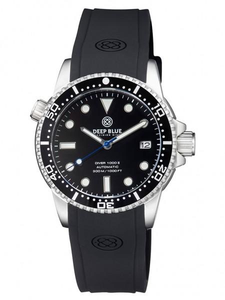 Deep Blue Diver 1000 II Black-Black-Blue Glossy