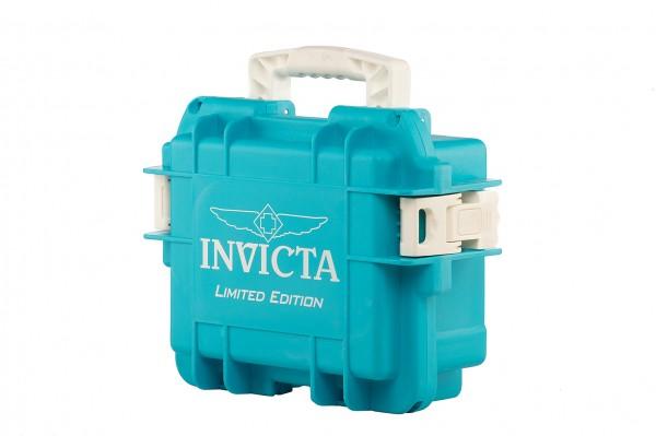 Invicta Stoßfester Uhrenkoffer Aqua Weiss 3
