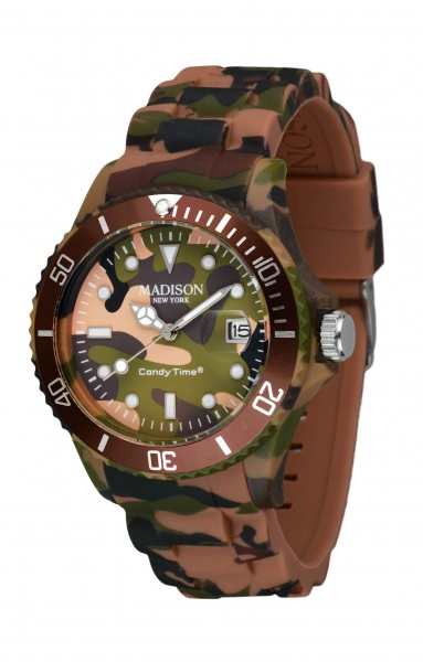 Madison New York U4808-19 Camouflage Braun