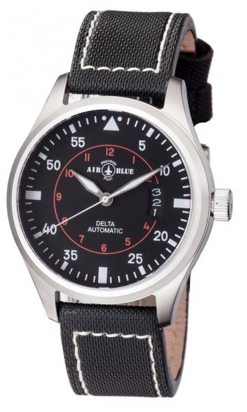 Air Blue Delta Automatic Black 44mm