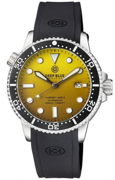 Deep Blue Master 1000 II Gradient Yellow Matt