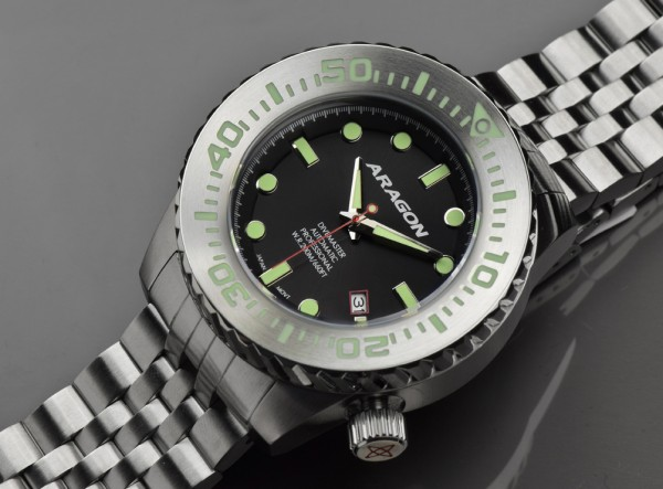 ARAGON Divemaster EVO 45 mm Automatic Black