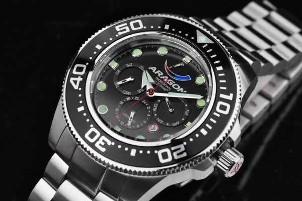 ARAGON Divemaster 9100 Automatic 45mm Black