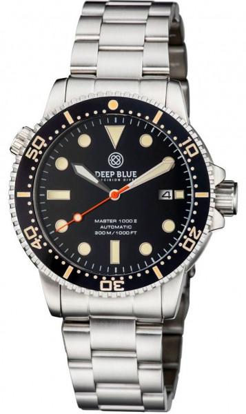 Deep Blue Master 1000 II Black Vintage