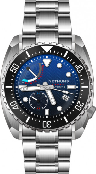Nethuns Lava II Blue Gradient Power Reserve Automatic Limited Edition