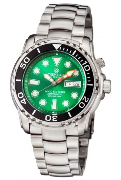 Deep Blue Sea Diver III 1000m Green