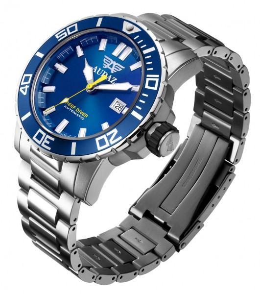 Audaz Reef Diver Blue Automatic ADZ-2040-02 inkl. Gummiarmband