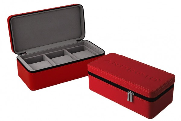 ANDROID Travel Case 3 Red