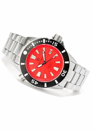 Deep Blue Master Explorer III 1000m Red