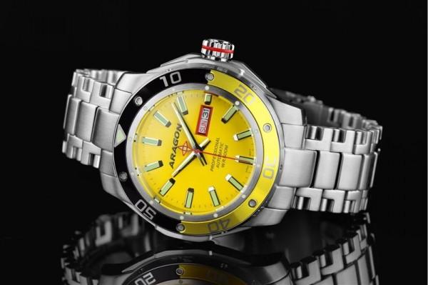 ARAGON Superjet 50mm Yellow 500m Automatic