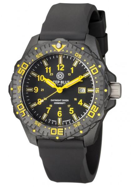 Deep Blue Daynight H3 Diver Yellow