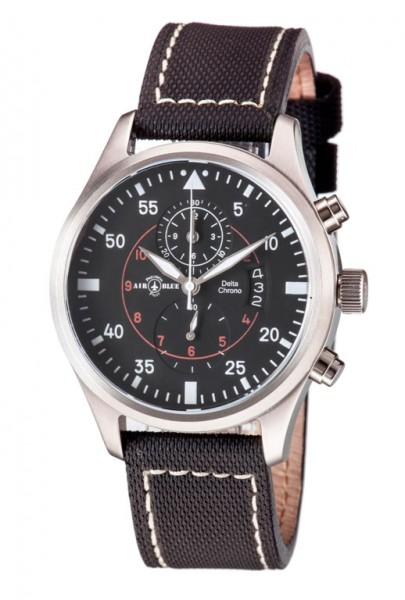 Air Blue Delta Chrono Black 44mm