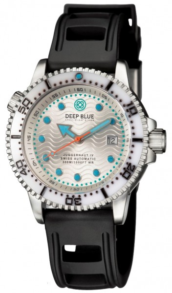 Deep Blue Juggernaut IV Auto Silver