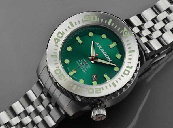 ARAGON Divemaster EVO 50 mm Automatic Green