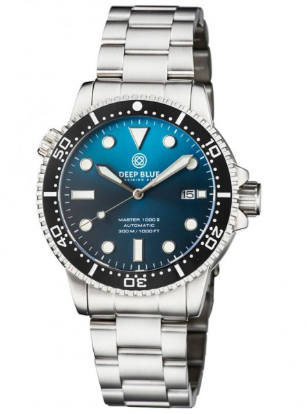 Deep Blue Master 1000 II Gradient Teal Blue Steel