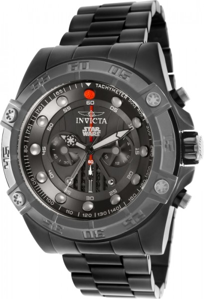 Invicta 26497 Star Wars Darth Vader Quarz Black Steel