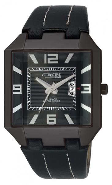 Q&Q DB06J505Y Damen-Armbanduhr XXL