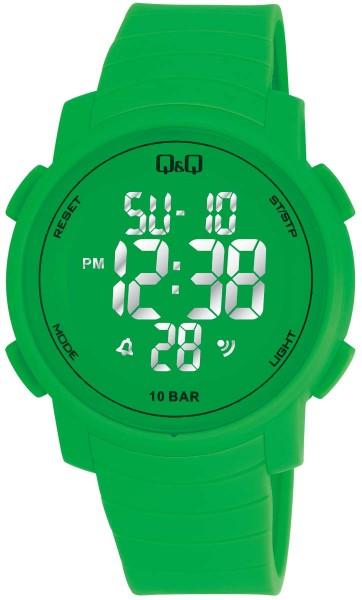 Q&Q Chrono M122J007Y Unisex Grün Armbanduhr
