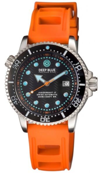 Deep Blue Juggernaut IV Auto Black-Orange