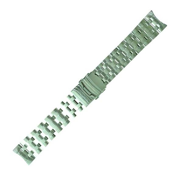 Air Blue Edelstahl-Armband 22mm