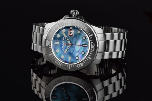 ARAGON Divemaster III MOP Automatic 45mm Steel